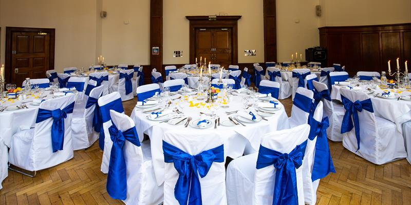 meeting room dining area - blue orchid